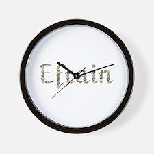 Efrain Seashells Wall Clock