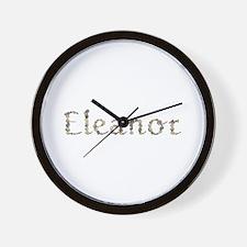 Eleanor Seashells Wall Clock