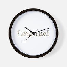 Emanuel Seashells Wall Clock