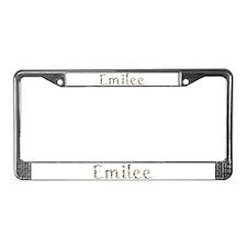 Emilee Seashells License Plate Frame