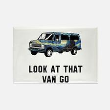 Look at that van go Rectangle Magnet