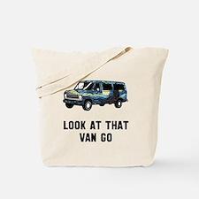 Look at that van go Tote Bag