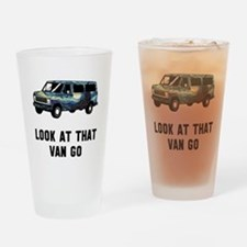 Look at that van go Drinking Glass