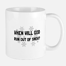 God Out Of Snow Mugs
