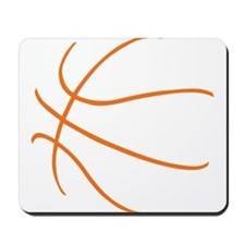 Basketball Ball Lines Orange Mousepad