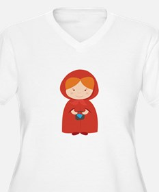 Red Hood Plus Size T-Shirt