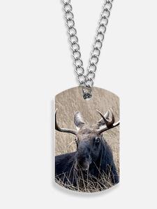Shiras Moose Dog Tags