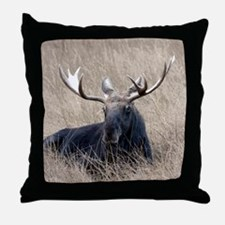 Shiras Moose Throw Pillow