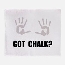 Got Chalk Throw Blanket