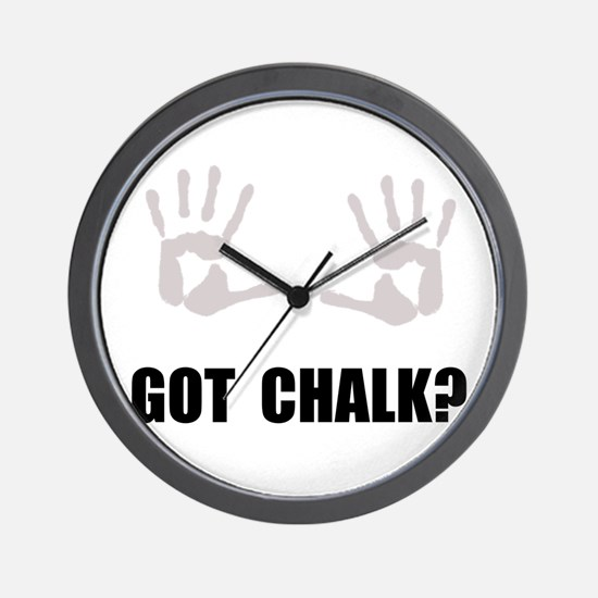 Got Chalk Wall Clock