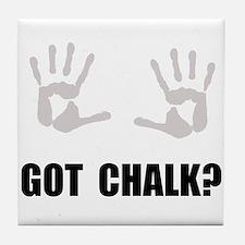 Got Chalk Tile Coaster