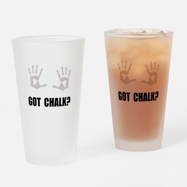 Got Chalk Drinking Glass