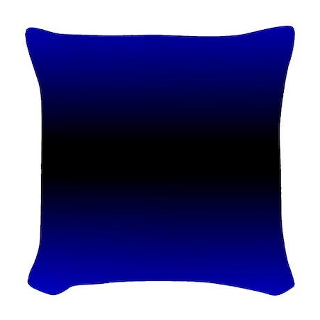 Woven Blue Throw Pillow : Electric Blue Woven Throw Pillow by Admin_CP11861778