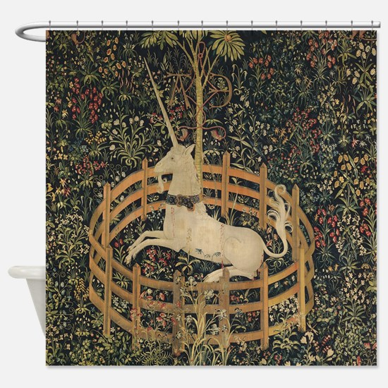 Unicorn Captured Shower Curtain