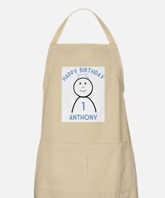 Happy B-day Anthony (1st) BBQ Apron