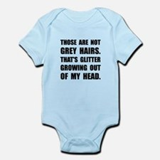 Grey Hairs Glitter Body Suit