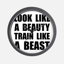 Look Beauty Train Like Beast Wall Clock