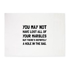 Lost Your Marbles 5'x7'Area Rug