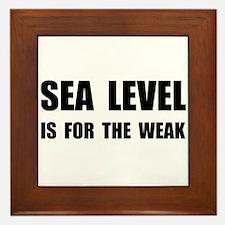 Sea Level For The Weak Framed Tile