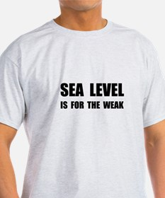 Sea Level For The Weak T-Shirt