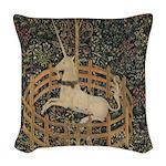 Unicorn Captured Woven Throw Pillow