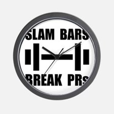 Slam Bars Break PRs Wall Clock