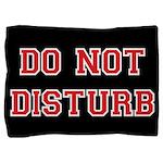 Do Not Disturb Pillow Sham
