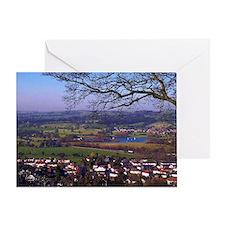 English County. Greeting Card