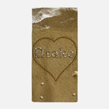 Drake Beach Love Beach Towel