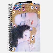 Klimt Art Deco Mother Child Journal