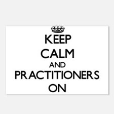 Keep Calm and Practitione Postcards (Package of 8)