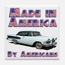 Edsel, Made in America Tile Coaster