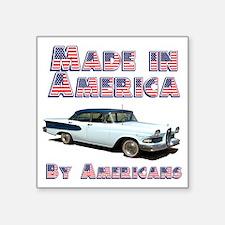 "Edsel, Made in America Square Sticker 3"" x 3"""