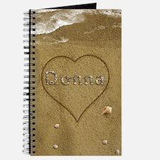Donna Beach Love Journal