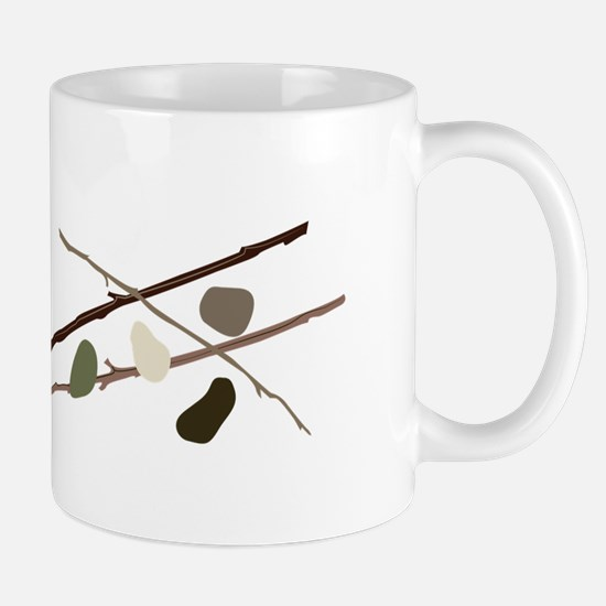 Sticks And Stones Mugs