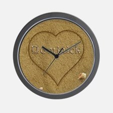 Dominick Beach Love Wall Clock