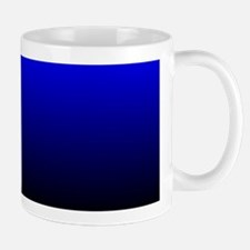Electric Blue Mugs