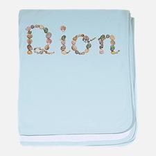 Dion Seashells baby blanket