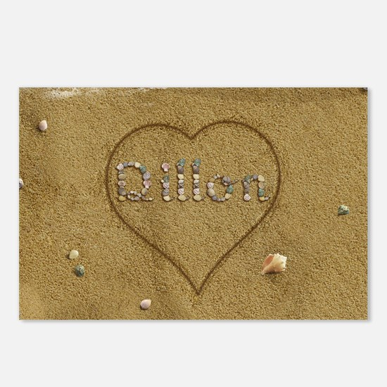 Dillon Beach Love Postcards (Package of 8)