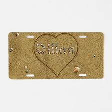 Dillon Beach Love Aluminum License Plate
