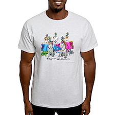 Fox Terrier Party Animals T-Shirt