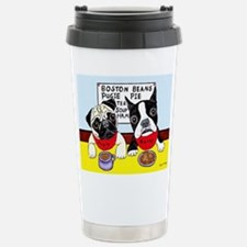 Unique Pug Travel Mug