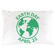 Earth Day, April 22 Pillow Case