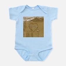 Dewey Beach Love Infant Bodysuit