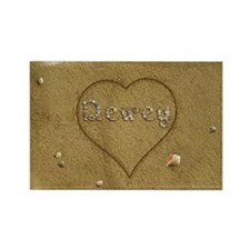 Dewey Beach Love Rectangle Magnet