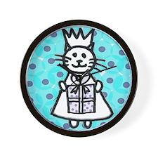 Birthday Kitten Wall Clock