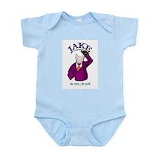 Jake -E-wares Logo Gear Infant Creeper
