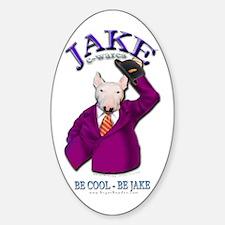 Jake -E-wares Logo Gear Oval Decal
