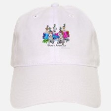 Fox Terrier Party Animals Baseball Baseball Cap