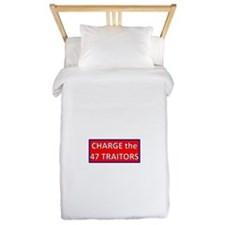 Charge the 47 Traitors Twin Duvet
